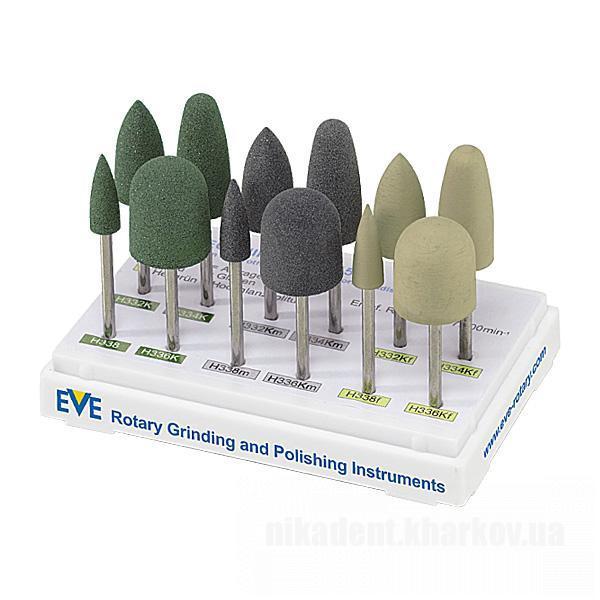 Фото Для зуботехнических лабораторий, АКСЕССУАРЫ, Полиры, щетки, диски EVE TECHNIK HP 115 полировочные головки для акрила