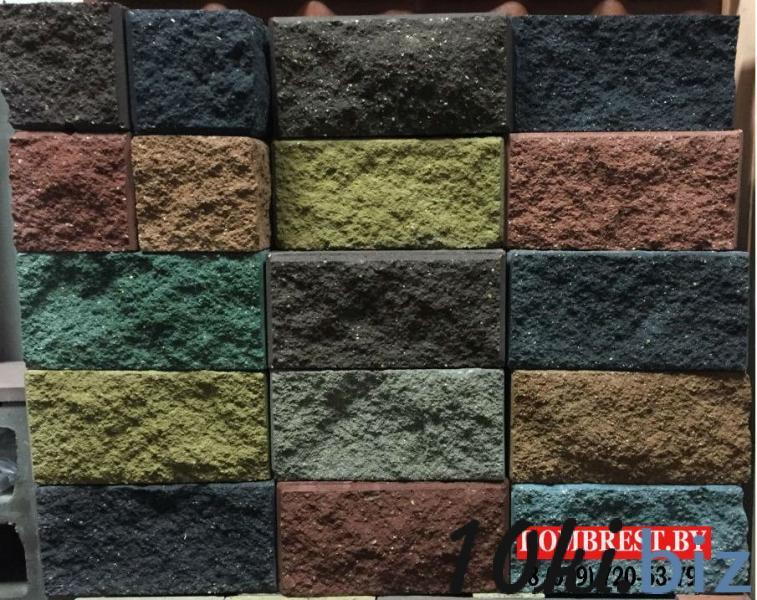 Блоки для забора демлер рваный камень купить в Беларуси - Комплектующие для заборов