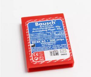 BK63 (Бумага артикуляционная двухцветная) Bausch