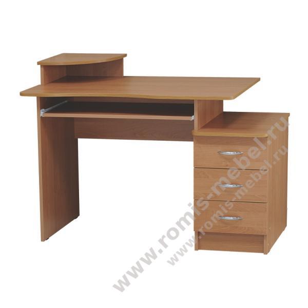 Фото Столы компьютерные и письменные Компьютерный стол Волна (Ромис)
