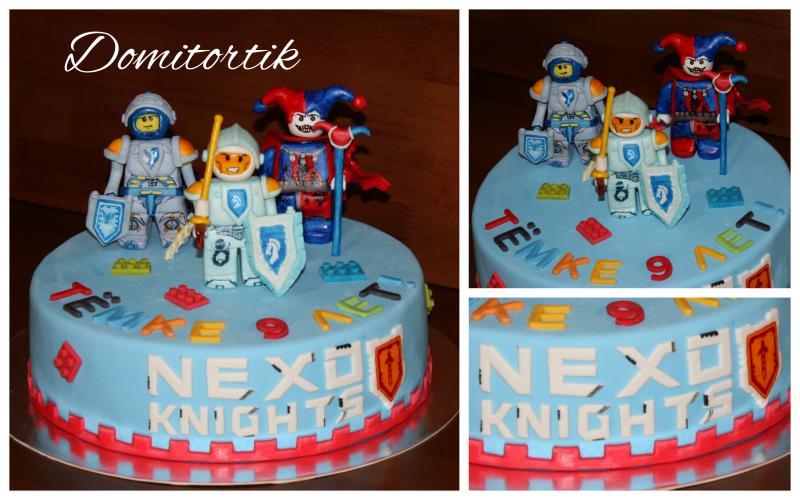 Торт LEGO Nexo Knights  (ЛЕГО Нексо Кнайтс)