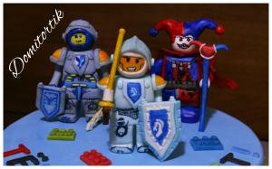 Фото Торты, Детские торты Торт LEGO Nexo Knights  (ЛЕГО Нексо Кнайтс)