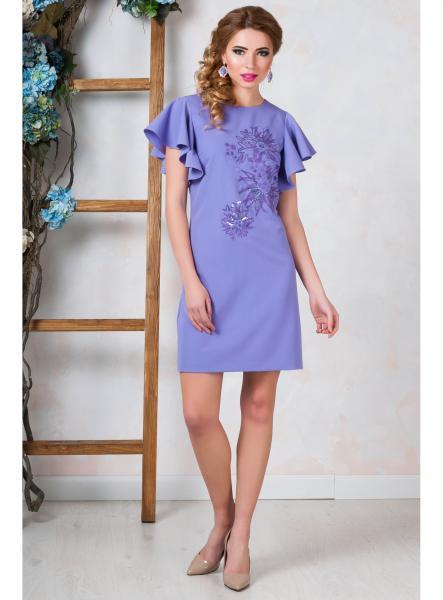 Короткое коктейльное платье Seam 7370