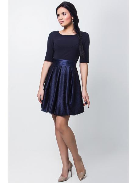 Короткое вечернее платье Seam 6120