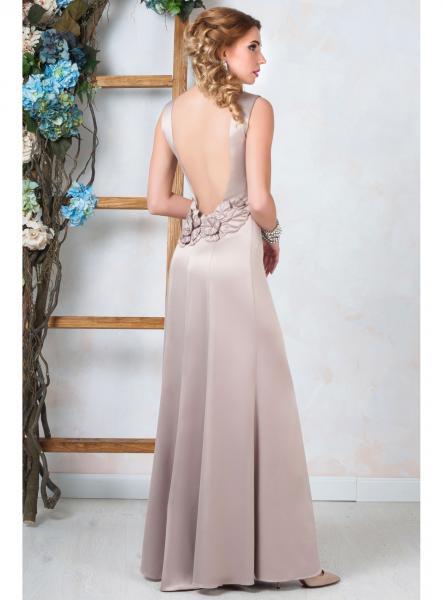 Длинное вечернее платье Seam Грация