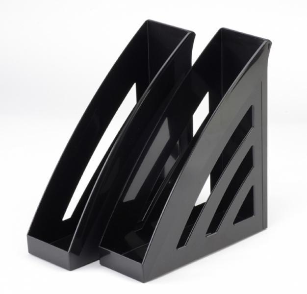 Фото Канцелярские товары (ЦЕНЫ БЕЗ НДС), Лотки для бумаг Модуль вертикальный Бизнес черный