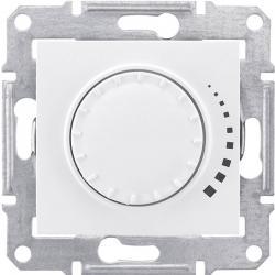 Фото Датчики движения, светорегуляторы, термостаты Светорегулятор поворотно-нажимной индуктивный 60-500 Вт Sedna