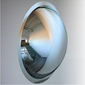 Фото Зеркала обзорные сферические и купольные Зеркало купольное для помещений D 1000 м