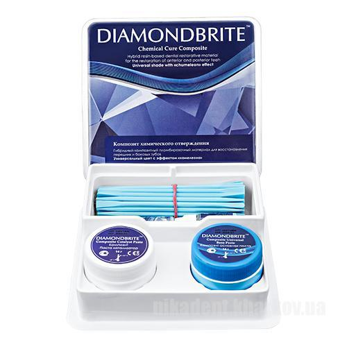 Фото Для стоматологических клиник, Материалы, Композиты химические Diamondbrite Chemical Cure (Набор гибридного композитного пломбировочного материала)