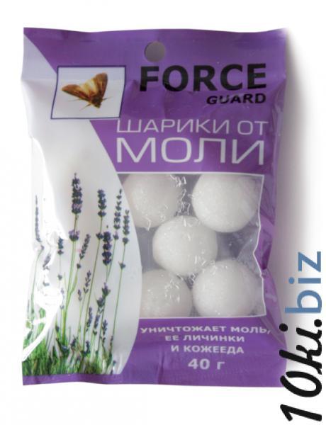 Шарики от моли Force  40 гр. Химические средства от насекомых в России