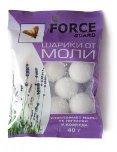 Шарики от моли Force  40 гр.