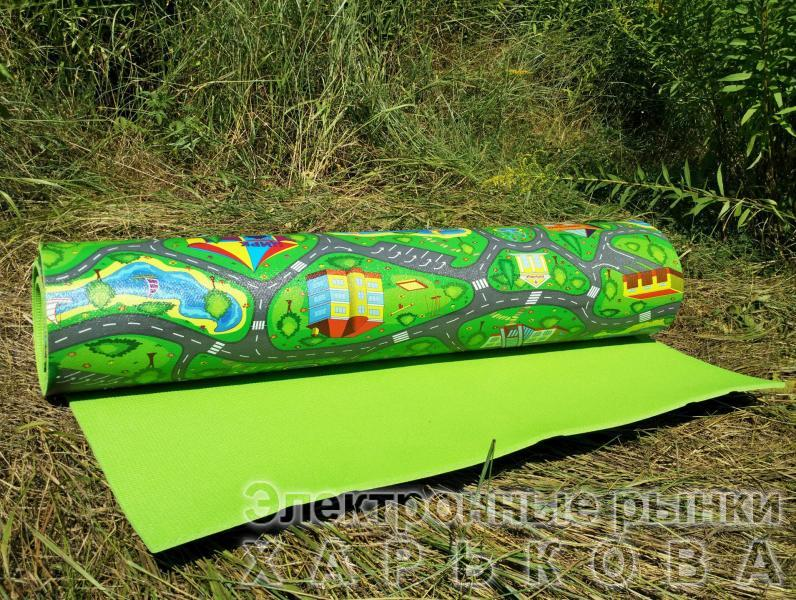 Развивающий детский коврик «Городок XXL»,    2000 х 1100 х 8 мм