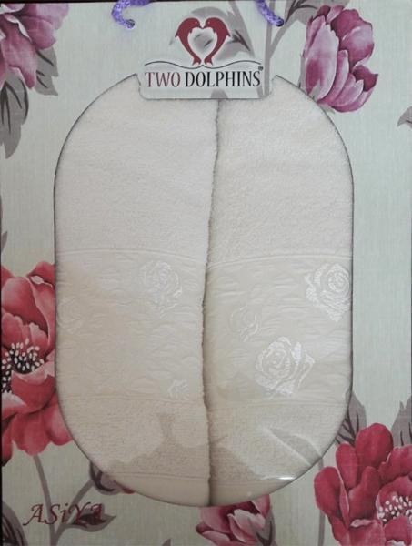 Набор махровых полотенец Asiya crema