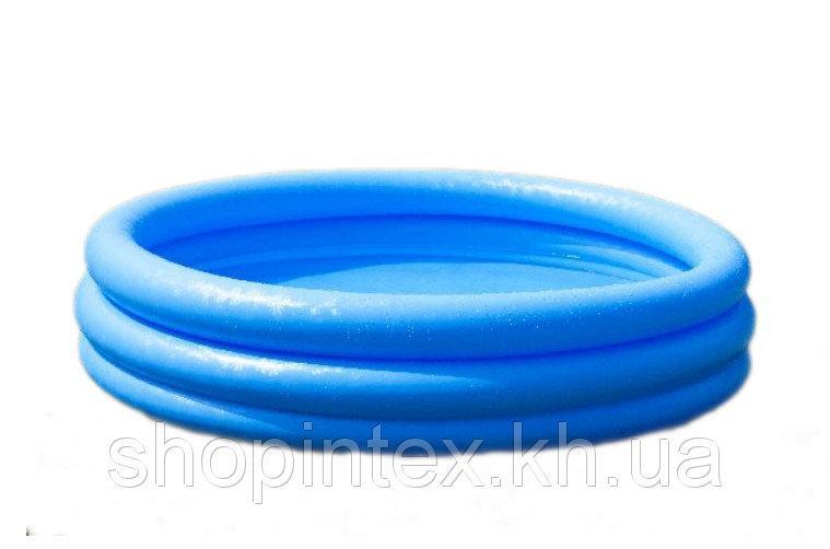 Надувной бассейн Синий кристалл 168х38см, Intex 58446