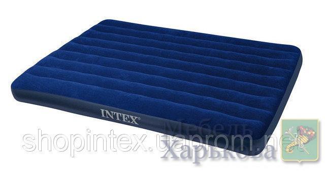 Надувной матрас Intex 68759 (203 х 152 х 22см) - Надувные кровати и матрасы для сна в Харькове
