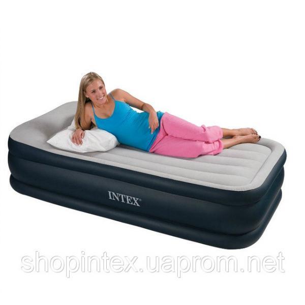 Кровать Intex 67732 со встроен. насос.220В (191х99х48 см)