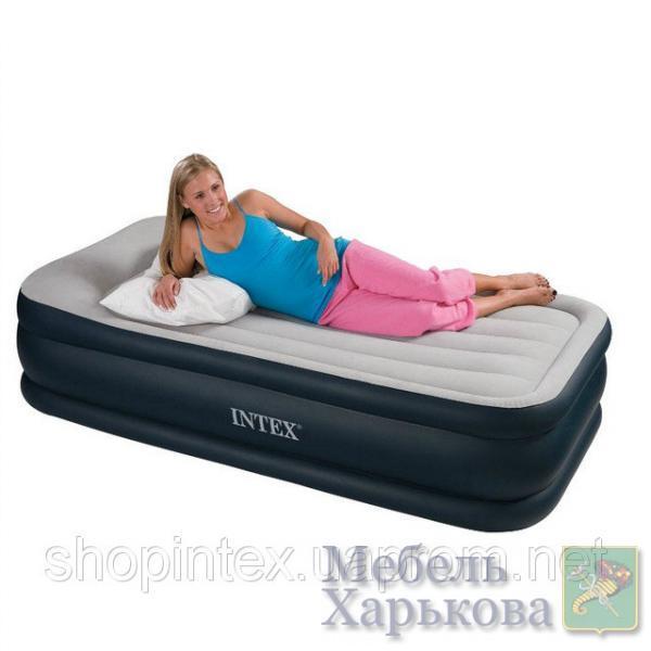 Кровать Intex 67732 со встроен. насос.220В (191х99х48 см) - Надувные кровати и матрасы для сна в Харькове
