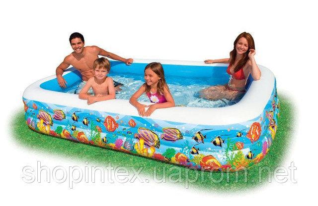 Надувной бассейн Intex 58485   305х183х56 см