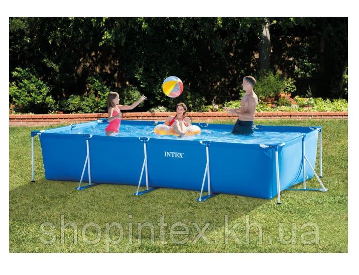 Каркасный бассейн Small Frame 4,50х2,20х0,84м Intex 28273
