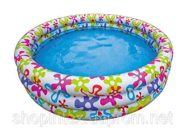 Бассейн «Цветочный» Intex 56440 168х41 см.