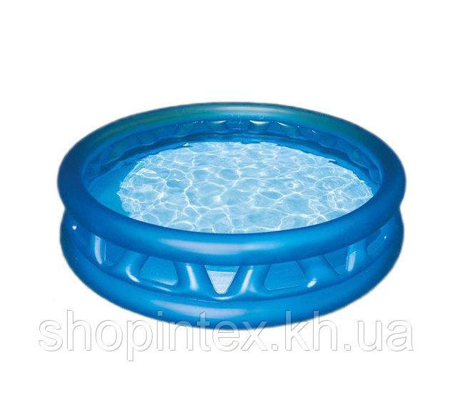 Надувной бассейн с ребрами 188х46см, Intex 58431