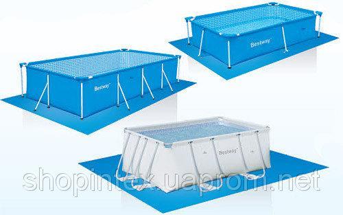 BestWay 58102 Подстилка для бассейнов 445х244см