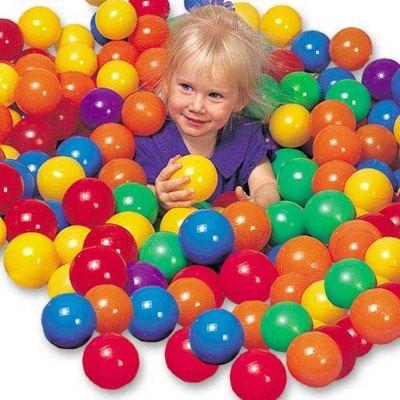 Набор цветных мячей Intex 49602