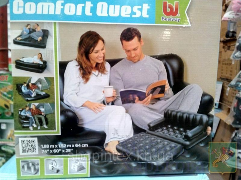 Надувной диван-трансформер 5 в 1 Bestway 75039 (188 х 152 х 64 см.) - Надувные диваны, кресла в Харькове
