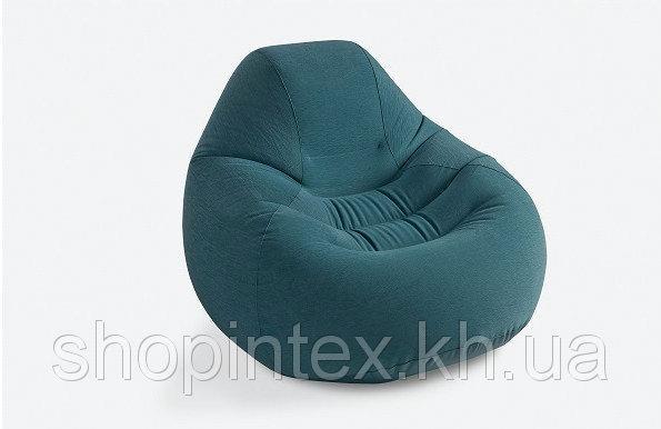 Надувное кресло Intex 68583 Deluxe Beanless Bag Chair (122 х 127 81 см);