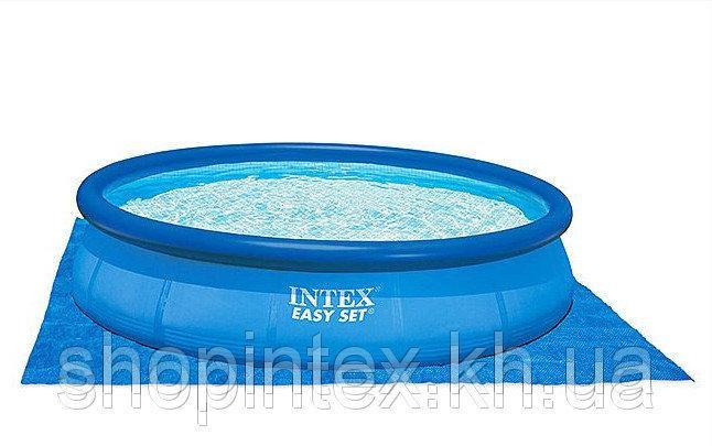 Подстилка под бассейн Intex 28048 (58932) 472x472 см