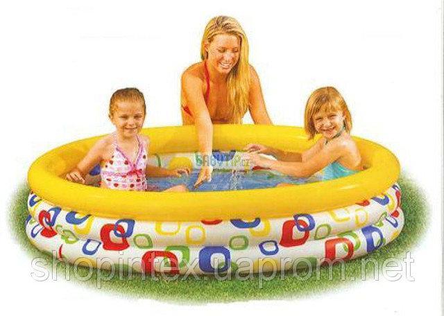Надувной детский бассейн Intex 58439 147х33 см.