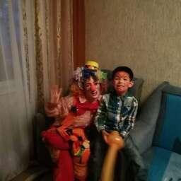 Фото  Клоун на День Рождения