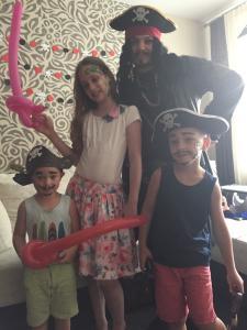 Фото  Пират на День Рождения