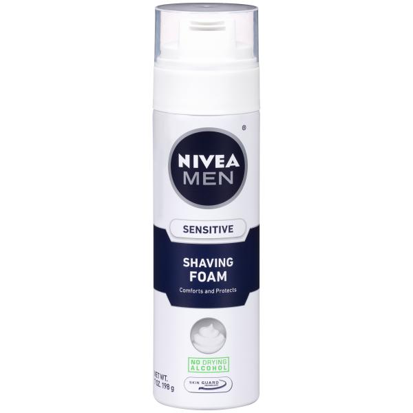 Фото Косметика для бритья, Для бритья, Пена для бритья Пена для бритья Nivea For Men, Германия.