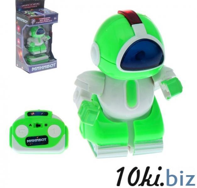 """Робот радиоуправляемый """"Минибот"""", световые эффекты, работает от батареек купить в Лиде - Радиоуправляемые модели и игрушки"""