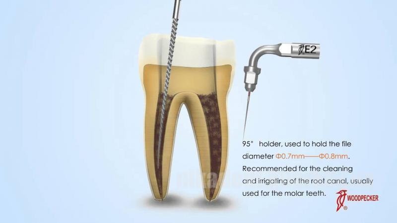 Фото Для стоматологических клиник, Аксессуары Woodpecker насадка для скалера E2