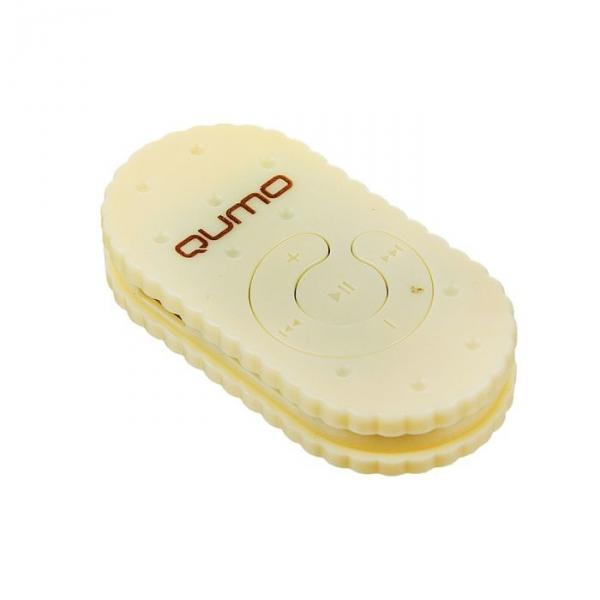 "MP3 плеер Qumo BISCUIT ""Ваниль"", Micro SD до 32 ГБ"