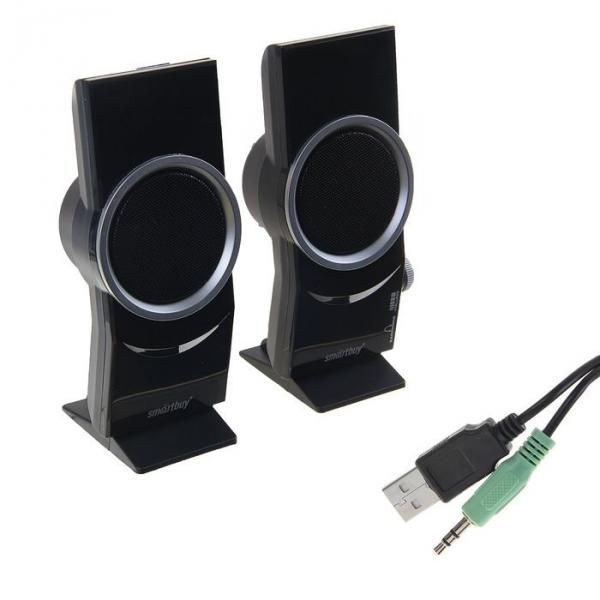 Стерео колонки SmartBuy ELVEN ROCK, 6 Вт, USB