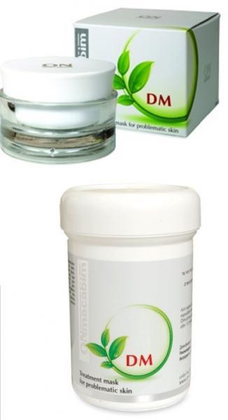 Маска для жирной и проблемной кожи, себорегулирующая ONmacabim DM Acne Treatment Mask