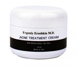 Фото Професcиональная косметика для домашнего ухода, Evgeniy Eroshkin M.D.  Крем для проблемной кожи Evgeniy Eroshkin M.D. Acne treatment cream (50ml)