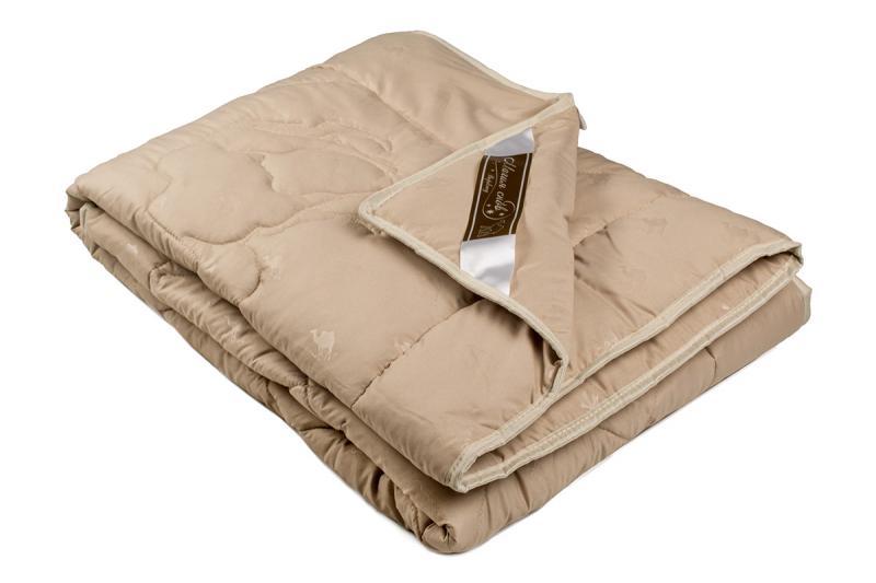 """Одеяло облегченное """"Шерсть верблюда"""" 1,5 спальное"""