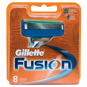 Картридж для бритья Gillette Fusion, в упаковке 8шт., Китай.