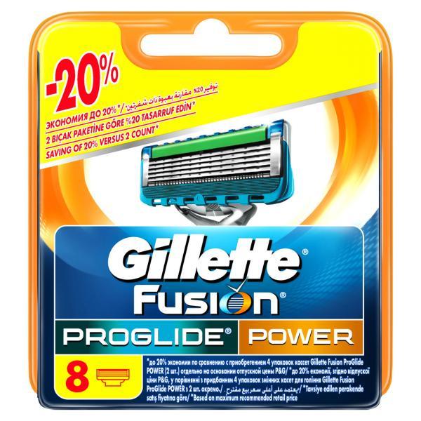 """Картриджи сменные для бритья """"Proglide Power"""", 8 шт. Китай."""