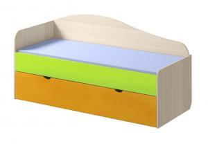 Кровать Почемучка с выкатным спальным местом (Премиум)