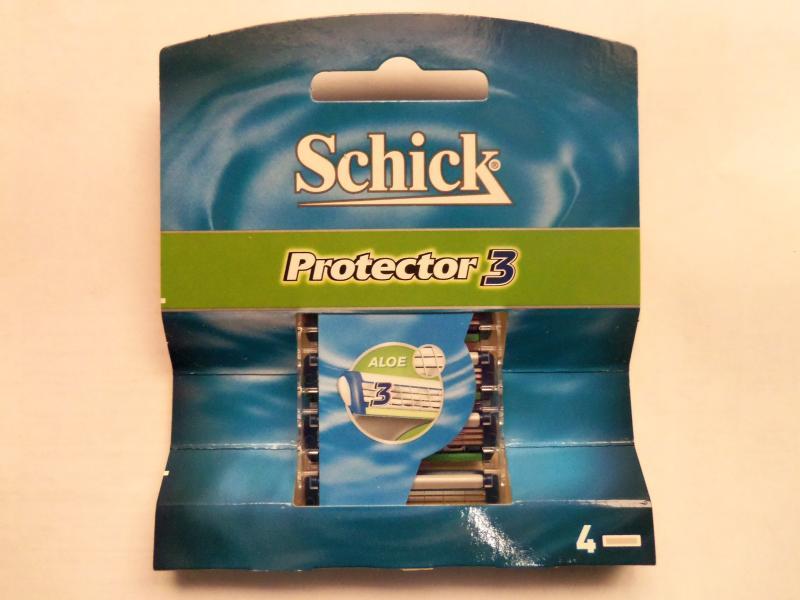 """Картридж для бритвы мужской """"Schick"""" Protector 3 4 шт"""