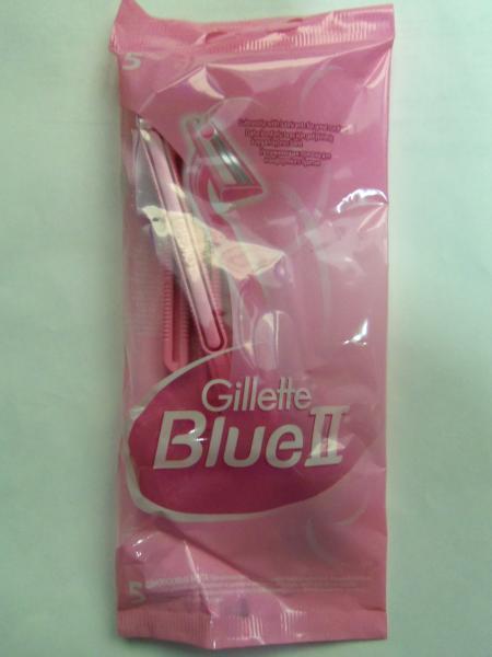 """Станки для бритья женские одноразовые """"Gillette"""" Blue 2, 5 шт"""