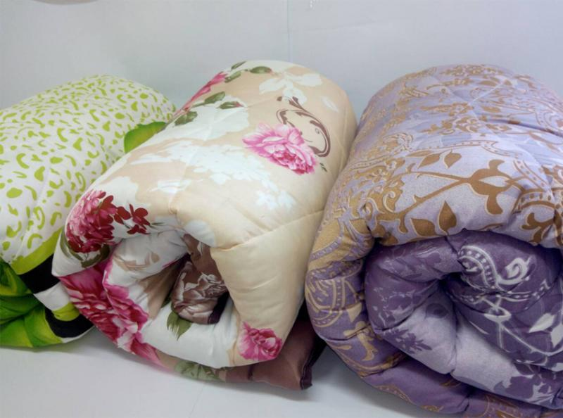 Одеяло шерстяное (шерсть 50%, силиконизированное полотно 50%)