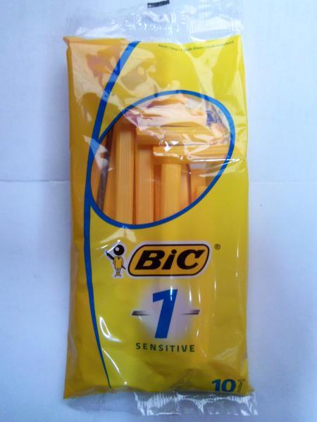 """Одноразовые бритвы """"Bic"""" Orange, упаковка 10шт., Греция."""