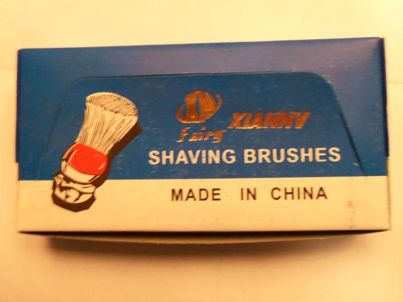 Помазок для бритья (6 шт, цвета в ассортименте, Китай) XIANNV