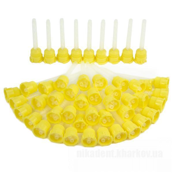 Фото Для стоматологических клиник, Расходные материалы Насадка для смешивания а силиконов 1х1 (50 шт)